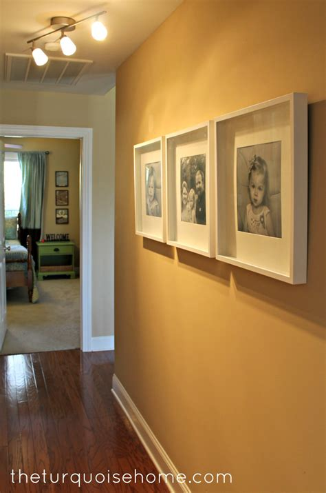 IKEA Ribba Frames {hallway update}   The Turquoise Home