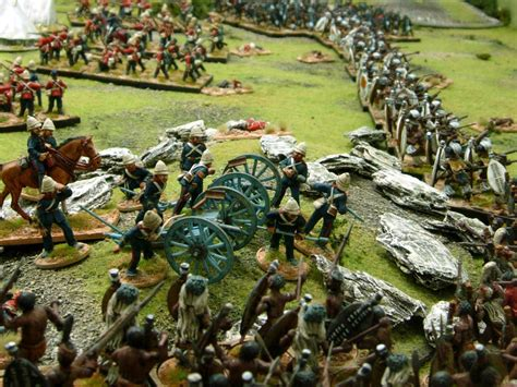 Wargaming with Silver Whistle: BATTLE OF ISANDLWANA part
