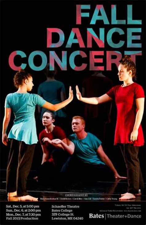 Performance Posters | Dance | Bates College