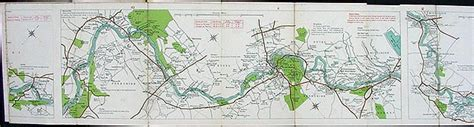 Stanford's New Map of the River Thames from Richmond to