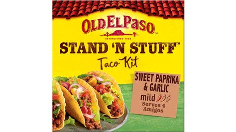 Stand 'N' Stuff Crunchy Taco Kit - Mexican Food - Old El Paso