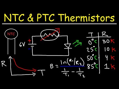 What is Thermistor ? - Negative temperature Coefficient
