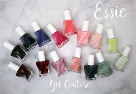 Essie Gel Couture Nail Polish swatches and review | we