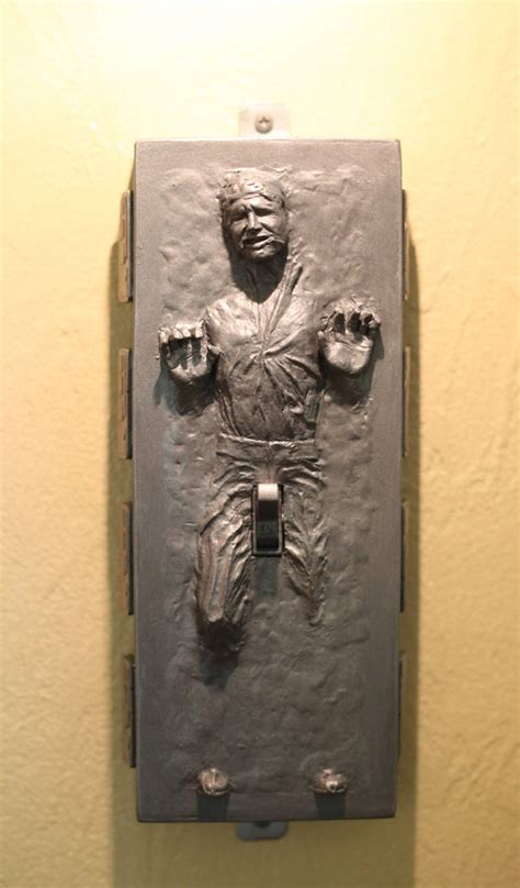 Han Solo In Carbonite With Boner Light Switch Plate