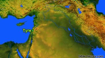 Tyre: Bible Cities - Resources for Ancient Biblical Studies
