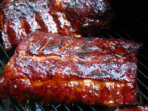 Smoked Baby Back Ribs on the Weber Kettle