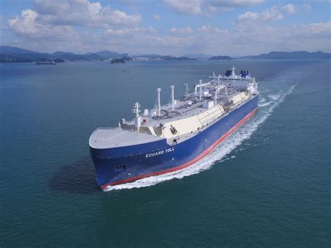 Gallery: Eduard Toll out for Gas Trials - Teekay   Teekay