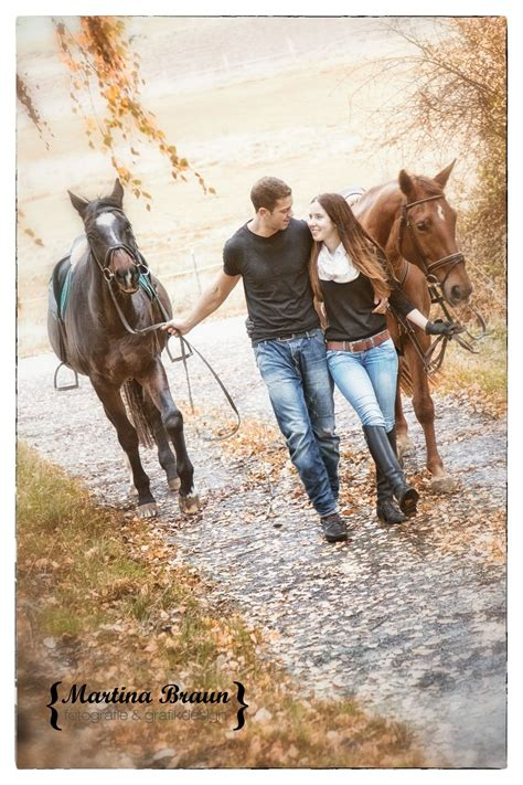 love, horses and a cute couple | outddor shoot
