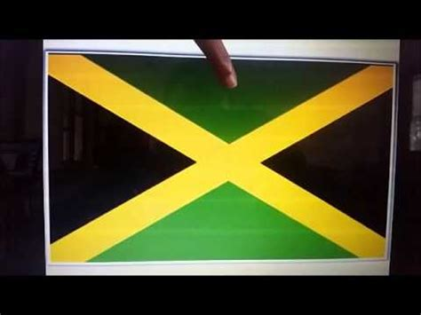 Meaning of the Jamaican Flag - YouTube
