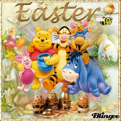 Winnie The Pooh And Friends Easter Gif Pictures, Photos