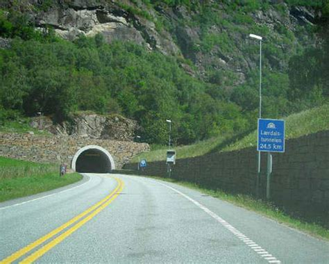 The World's Longest Road Tunnel - Laerdal Tunnel, Norway