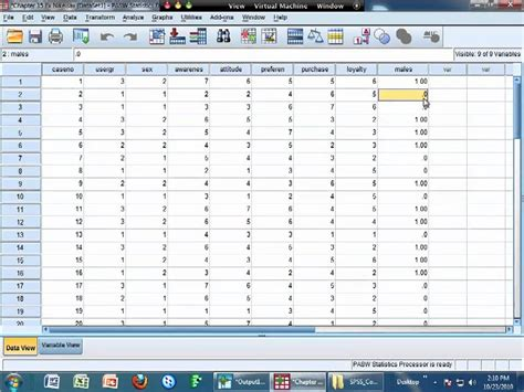 Dummy Variables in SPSS - YouTube
