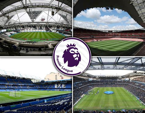 Premier League stadiums ranked by capacity | Sport
